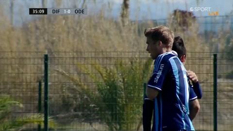 Andersson placerar in 1-0 för Djurgården