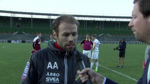 Andreas Alm: ''Vi får bygga om lite''