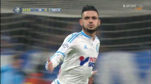 Cabella dunkar in 1-1 för Marseille