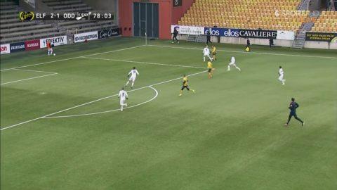 Claessons tredje assist - Nilsson rullar in 3-1