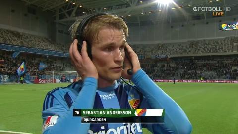 """Difs segerhjälte Andersson: """"Det är lite flyt - men så ska det vara"""""""