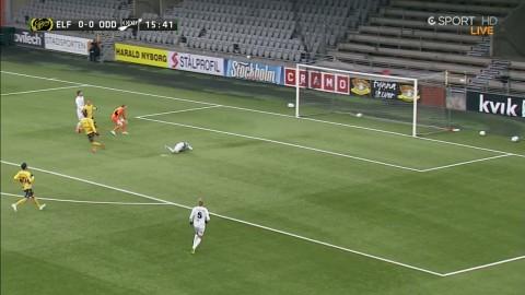 Elfsborg gör 1-0 - Viktor Prodell målskytt