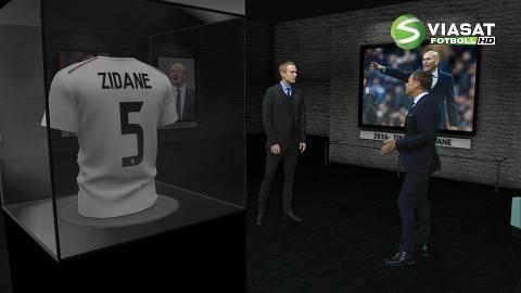 """Experten om Zidane: """"Det kommer han att ha stor nytta av"""""""