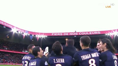 Ezequiel Lavezzi tackas av för sin tid i PSG