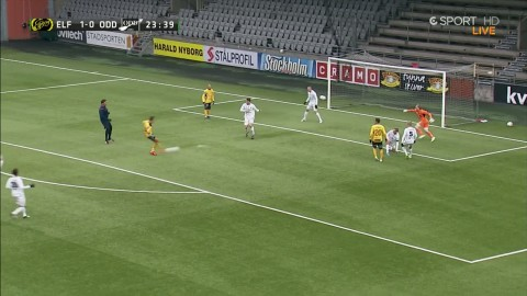 Firma Claesson-Prodell levererar igen - 2-0 till Elfsborg