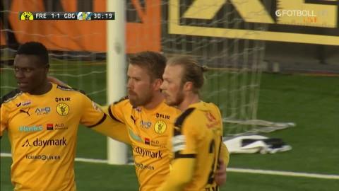 Frej slår tillbaka - sätter 1-1 mot Blåvitt