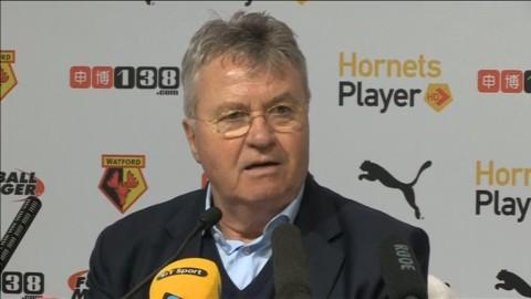 """Guus Hiddink: """"Vi förtjänade tre poäng"""""""