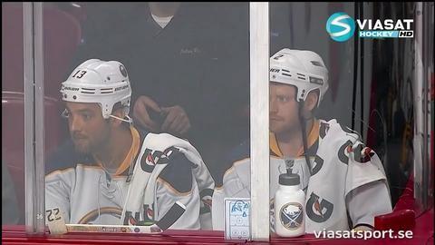 Höjdpunkt: Buffalo-fansen tar en öl