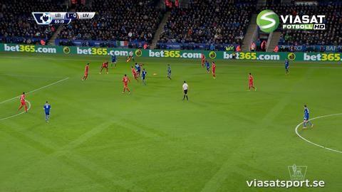 Höjdpunkt: Leicesters mönsteranfall - liknas vid Barcelona