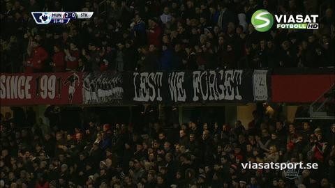Höjdpunkt: Old Trafford och Van Gaal hyllade Busby Babes