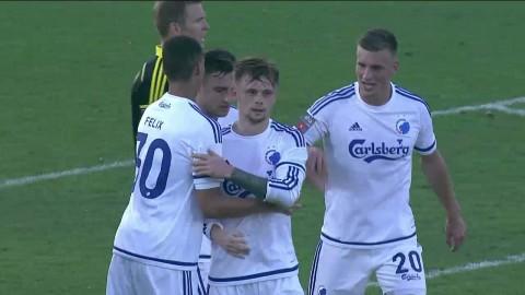 Höjdpunkter: AIK föll mot FCK efter sent självmål