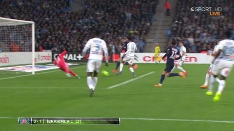 Höjdpunkter: Mål och assist av Zlatan i PSG:s seger