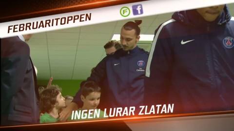 Klippen tittarna älskade - Zlatan, Rosenberg och jättetavla