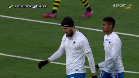 Kujovic reducerar för Norrköping mot AIK