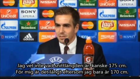 """Lahm om Bayerns extremt korta backlinje: """"175 cm är långt för mig"""""""