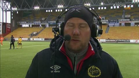 Magnus Haglund var nöjd med försvarsspelet: ''Jättefin match''