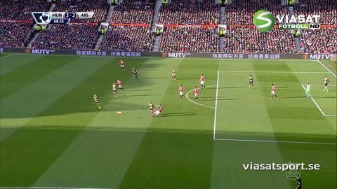 Mål: Arsenal reducerar på nytt - Özil nätar (3-2)