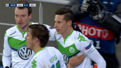 Mål: Draxler placerar in ledningsmålet (0-1)