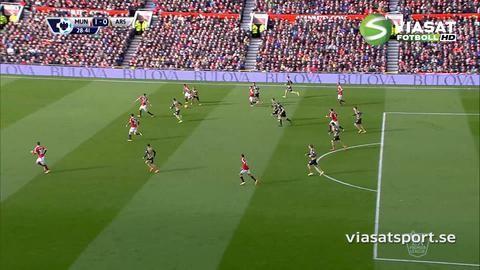 Mål: Drömdebut i PL för Rashford - ger United ledningen (1-0)