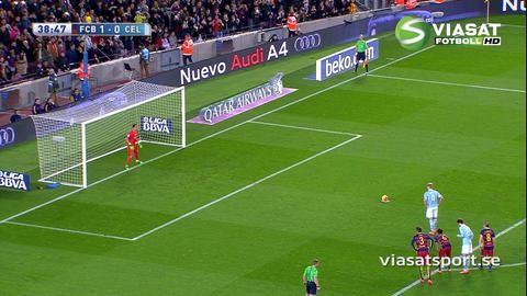 Mål: Drömstart för Guidetti - nätar mot Barça (1-1)
