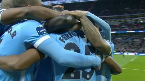 Mål: Fernandinho spräcker nollan för City (0-1)
