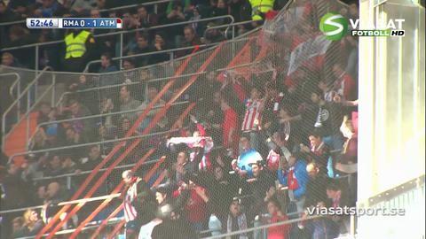 Mål: Griezmann bryter måltorkan - ger Atletico ledningen