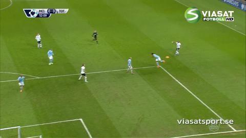 Mål: Kane ger Spurs ledningen på Etihad (0-1)