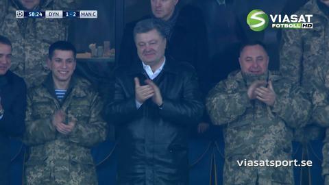 Mål: Kiev har känning - Buyalsky reducerar (1-2)