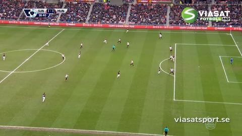 Mål: Martial trycker in kvitteringen för United (1-1)