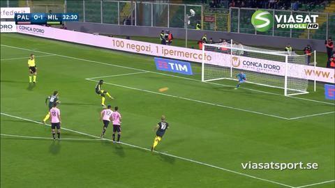 Mål: Milan utökar på straff - Niang nätar (0-2)