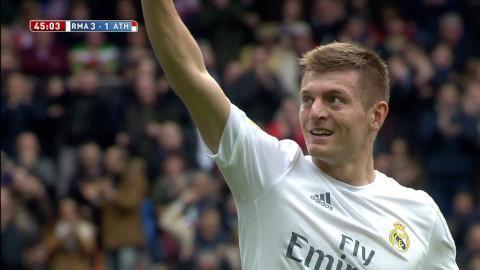 Mål: Real rycker - Kroos placerar in trean (3-1)