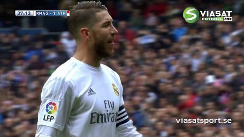 Mål: Real utökar - Rodriguez nätar (2-1)