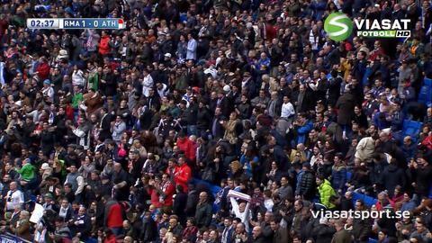 Mål: Ronaldo öppnar målskyttet mot Bilbao (1-0)