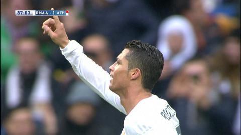 Mål: Ronaldo tvåmålsskytt när Real utökar (4-1)