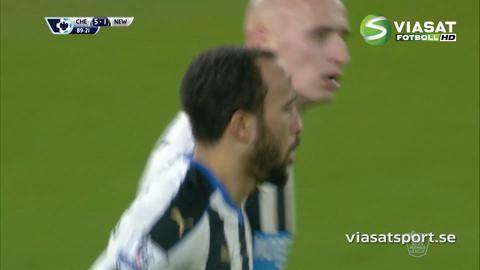 Mål: Townsend sätter tröstmålet för Newcastle (5-1)