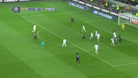 Moura ger PSG hopp - reducerar mot Lyon