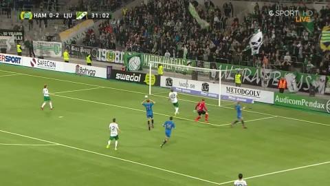 Nilsen nära att göra 3-0 på Hammarby