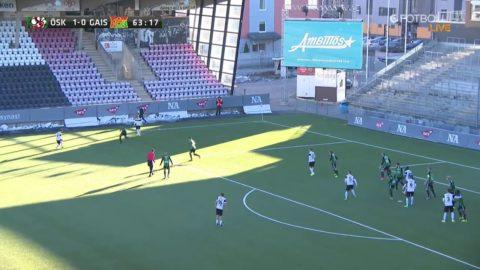 Nordmark tar inga fångar - stänker upp 2-0 med kanonskott