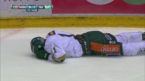 Ny huvudtackling i SHL - matchstraff för Modos Grundström