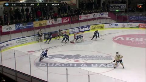 Omöjligt läge att måla -  ändå ställer AIK:s kvittering Gistedt i målet