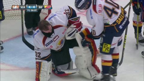 Otäck smäll - här knockas Tellqvist
