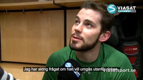 """Reportage: Möt John Klingberg """"En världsback"""""""