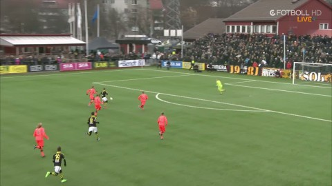 Sammandrag: AIK vann efter vackert mål av Brustad