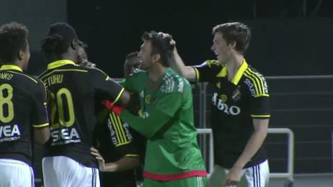 Sammandrag: AIK vann mot Molde - Stamatopoulos hjälte