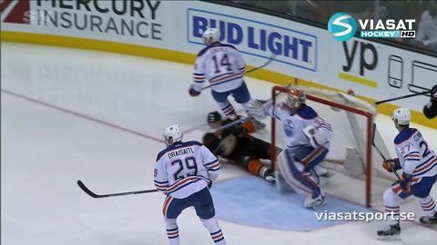 Sammandrag: Anaheim - Edmonton 2-1 (OT)
