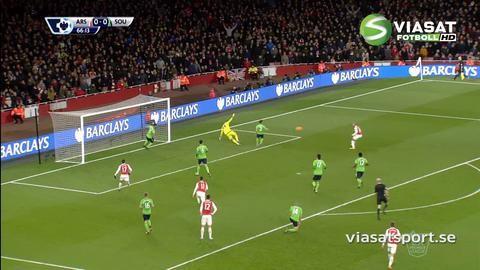 Sammandrag: Arsenal lyckades inte få hål på Southampton