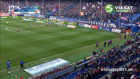 Sammandrag: Atlético vände och segrade på hemmaplan
