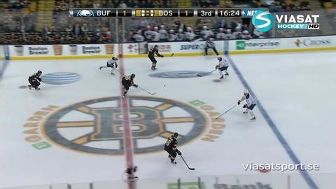 Sammandrag: Boston-Buffalo (2-1)