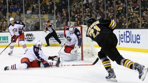 Sammandrag: Boston-Columbus (4-6)