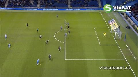 Sammandrag: Brighton fortsätter jaga PL-platsen efter 3-0